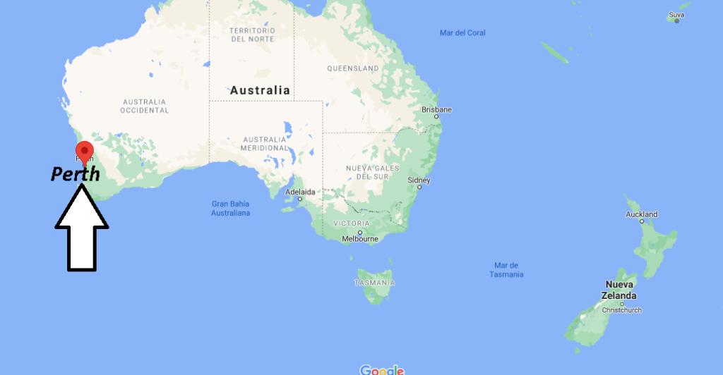 ¿Dónde queda Perth continente