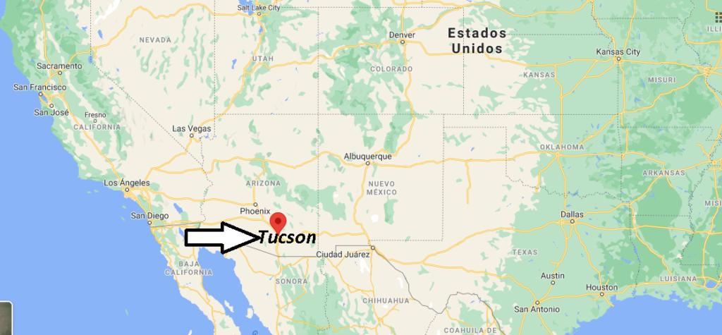 ¿Dónde queda Tucson