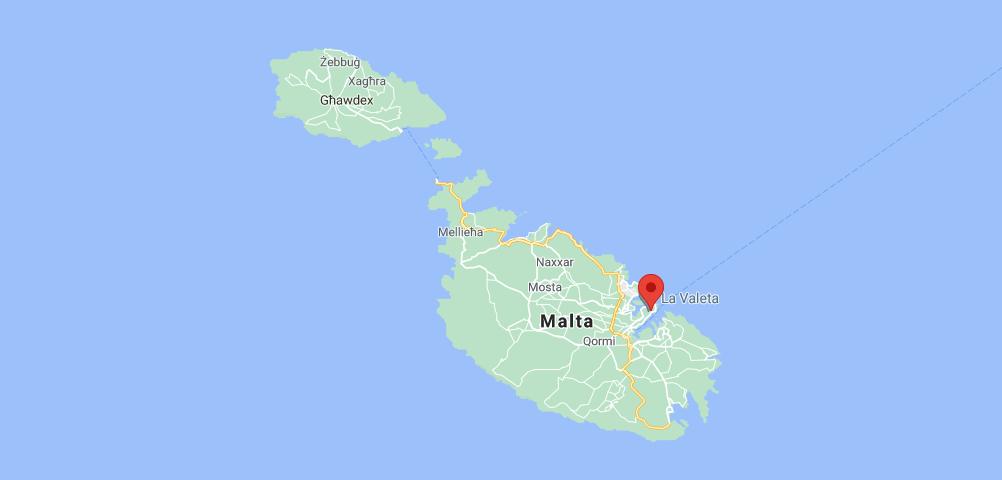 ¿Dónde queda Valletta