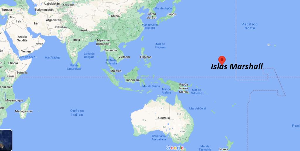 ¿Dónde queda las Islas Marshall