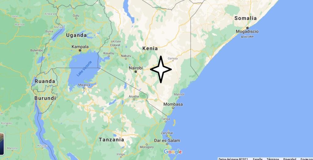 ¿Dónde se encuentra ubicado Kenia