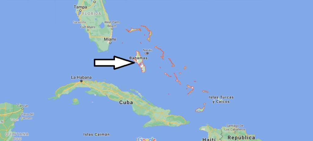 ¿Dónde se encuentran las islas Bahamas