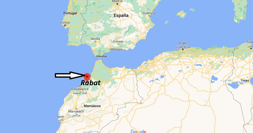¿Dónde se sitúa Rabat