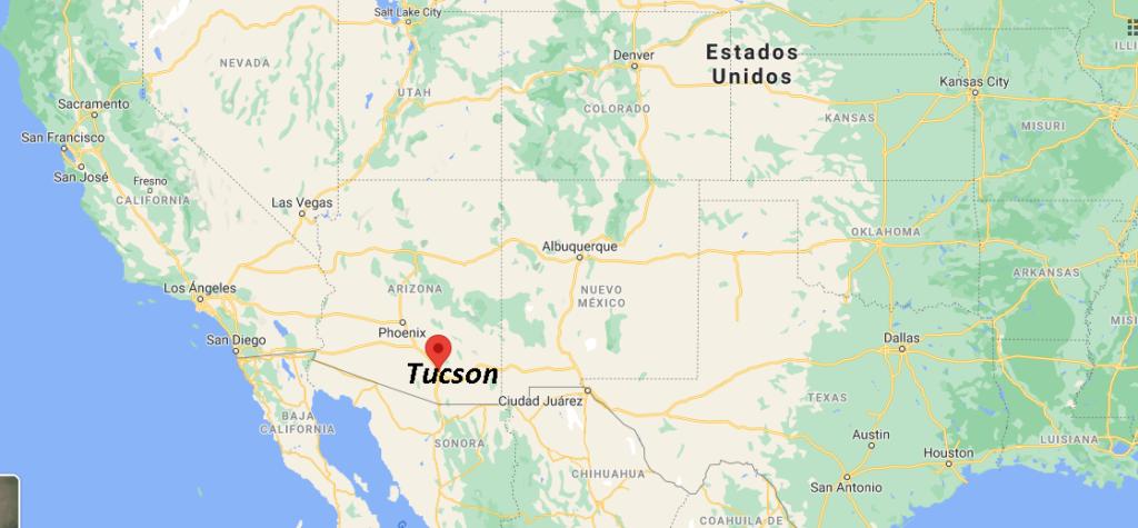 ¿Qué condado es Tucson
