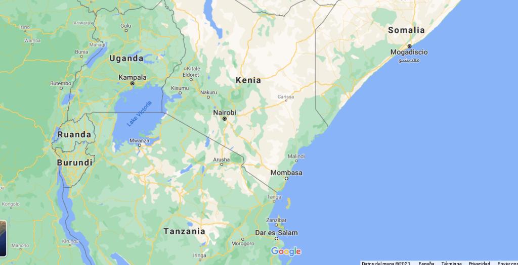 ¿Qué es el país de Kenia
