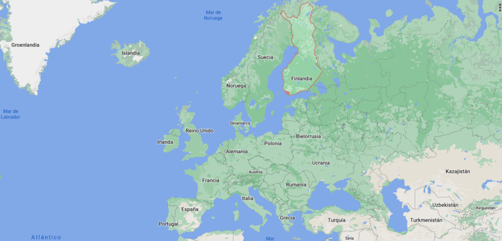 ¿Qué país pertenece Finlandia