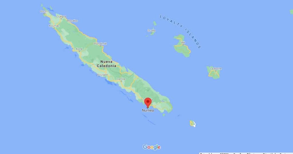 ¿Cómo se llama la capital de Nueva Caledonia