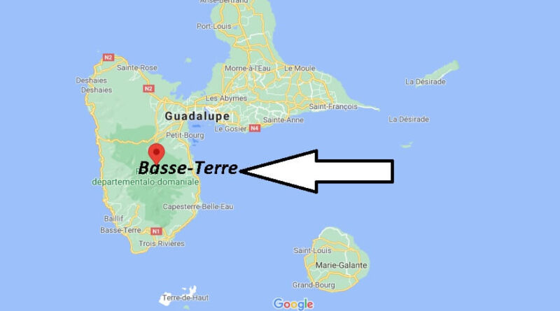 ¿Dónde está Basse-Terre