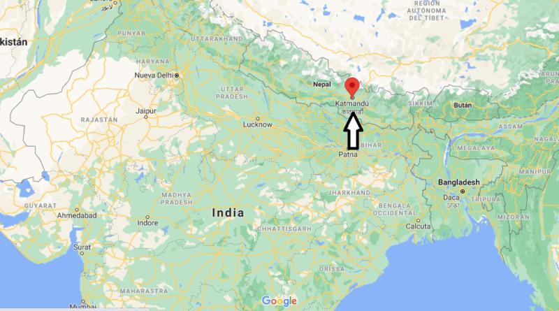 ¿Dónde está Katmandú