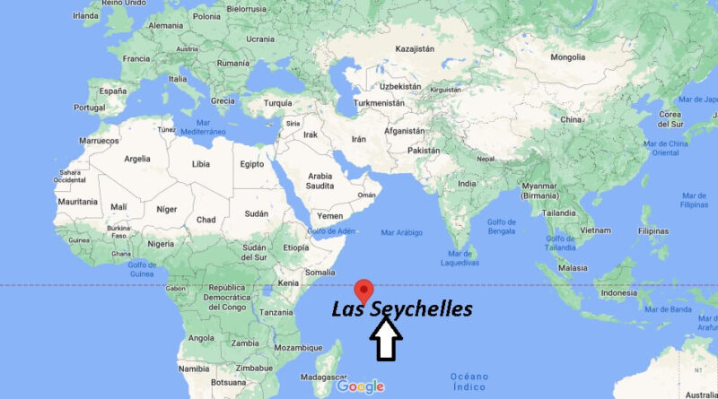 ¿Dónde está Las Seychelles
