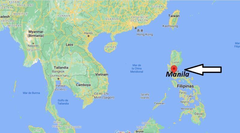 ¿Dónde está Manila