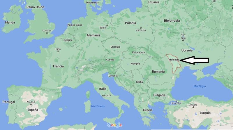 ¿Dónde está Moldavia