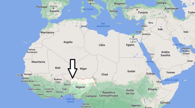 ¿Dónde está Nigeria