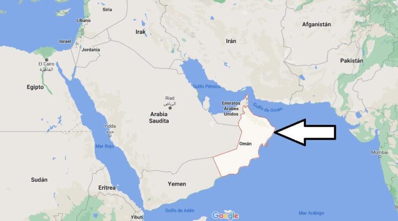 ¿Dónde está Omán