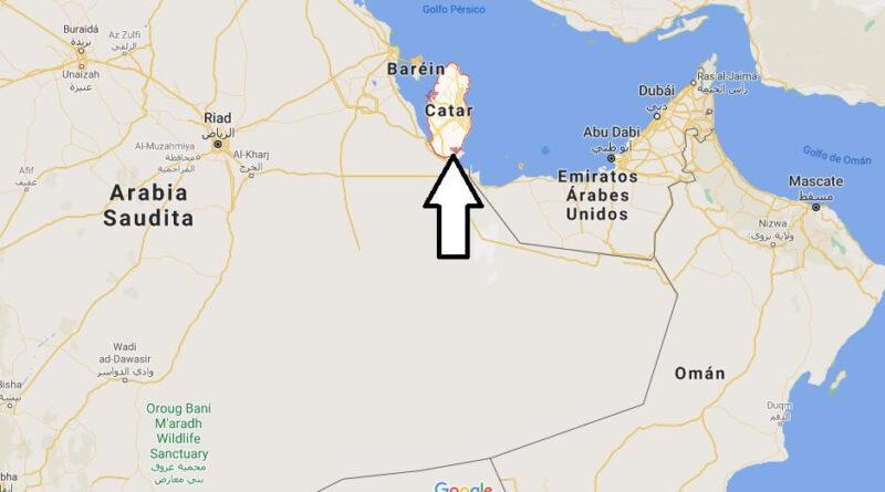¿Dónde está Qatar