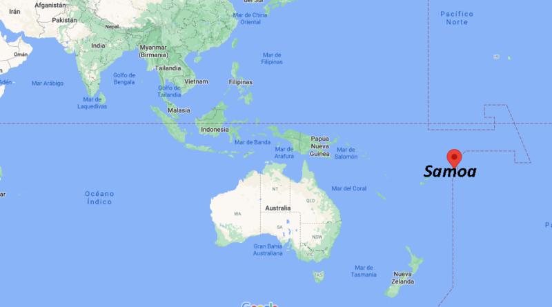 ¿Dónde está Samoa
