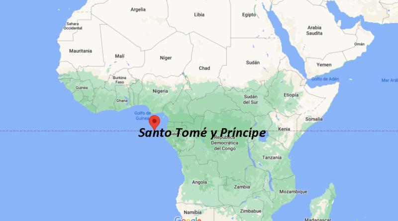 ¿Dónde está Santo Tomé y Príncipe