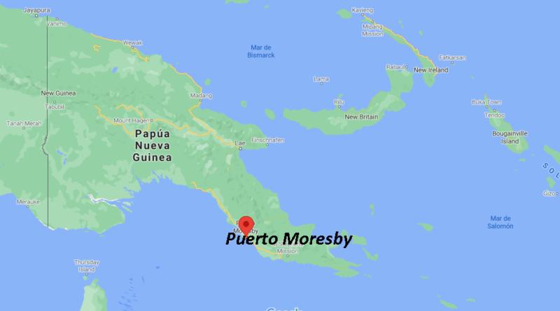 ¿Dónde está la isla de Papúa