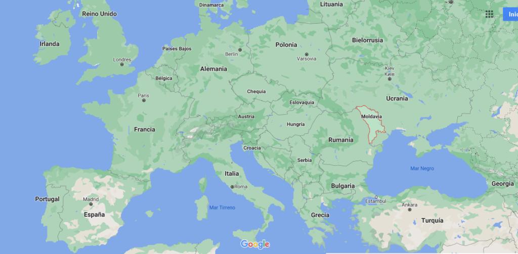 ¿Dónde queda Moldavia