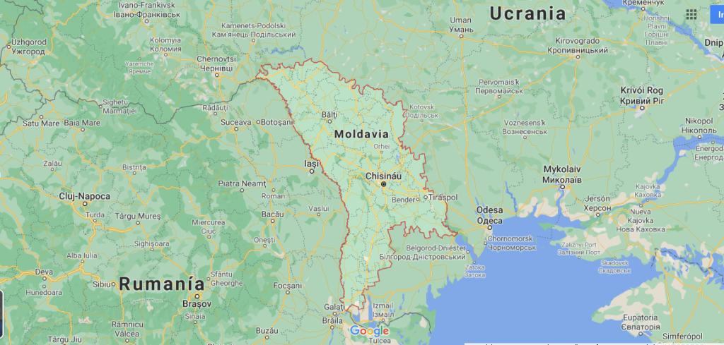 ¿Dónde se encuentra el país Moldavia