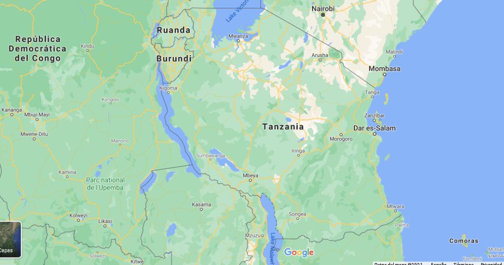 ¿Cómo se llama la capital de Tanzania