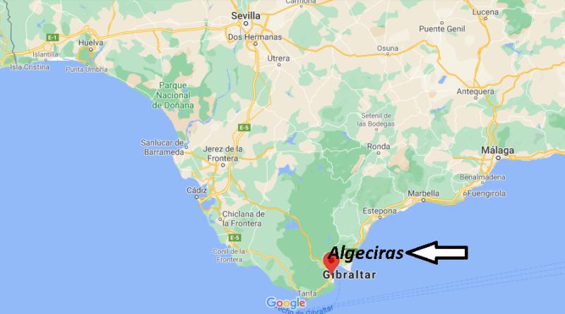 ¿Dónde está Algeciras
