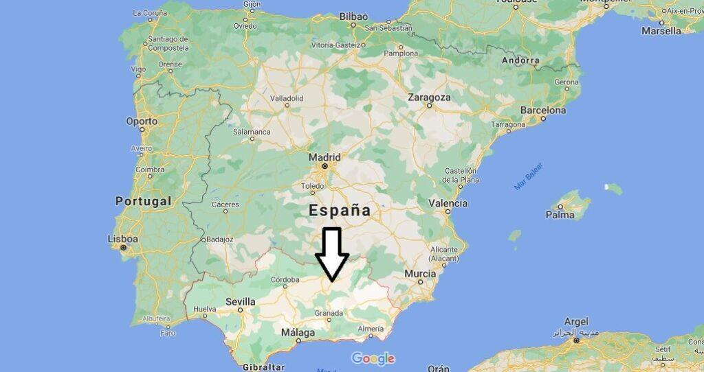 ¿Dónde está Andalucia