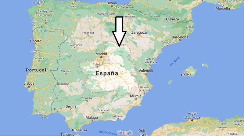 ¿Dónde está Castilla-La Mancha