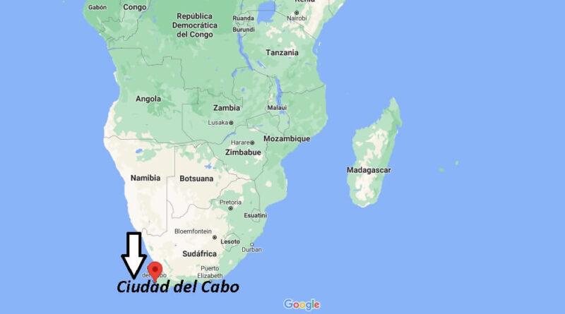 ¿Dónde está Ciudad del Cabo
