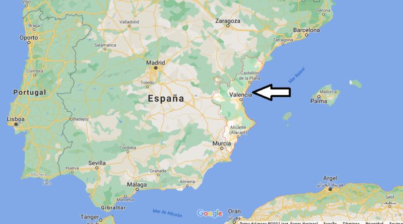 ¿Dónde está Comunidad Valenciana
