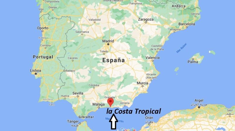 ¿Dónde está Costa Tropical