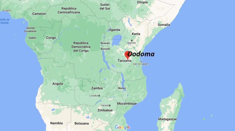 ¿Dónde está Dodoma