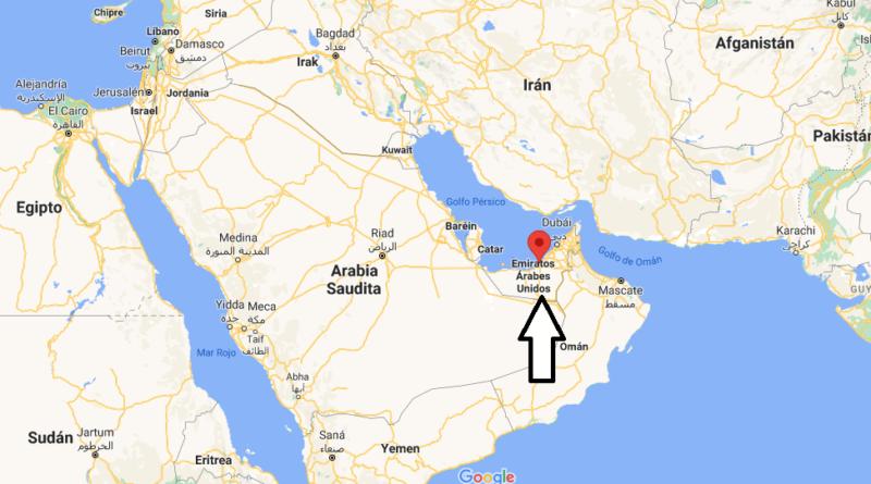 ¿Dónde está Emiratos Abu Dhabi