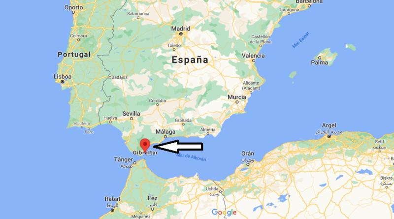 ¿Dónde está Gibraltar