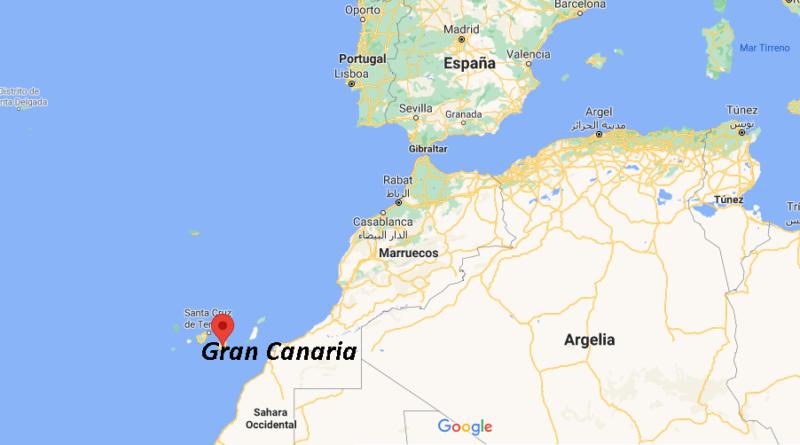¿Dónde está Gran Canaria