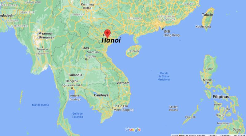 ¿Dónde está Hanoi