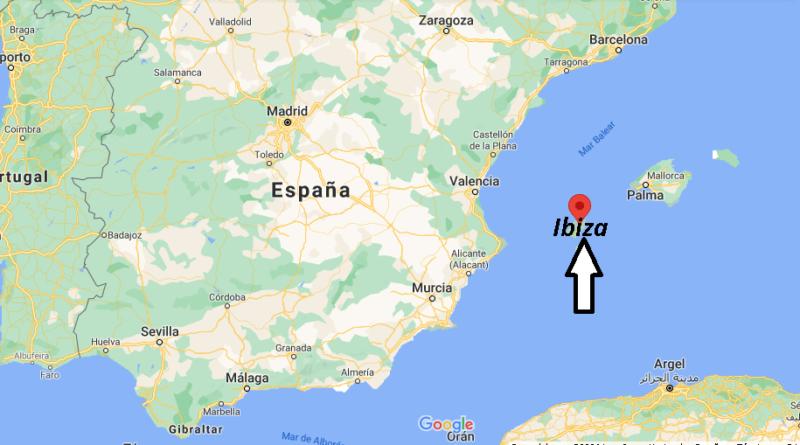 ¿Dónde está Ibiza