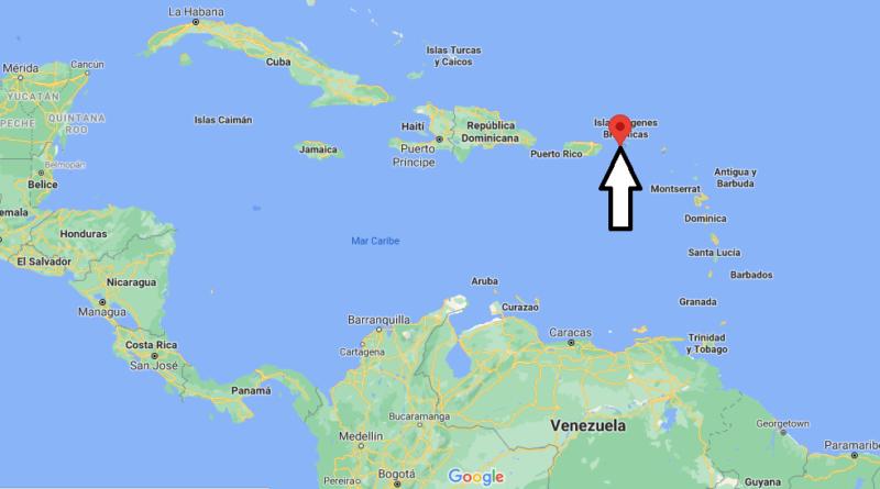 ¿Dónde está Islas Vírgenes