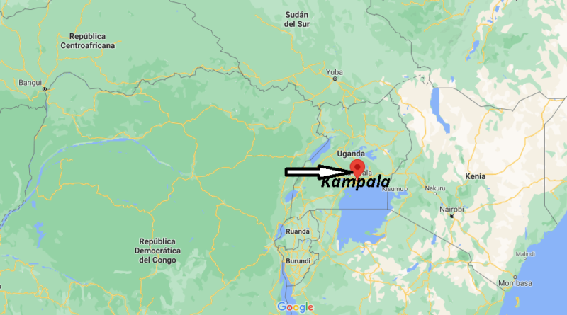 ¿Dónde está Kampala