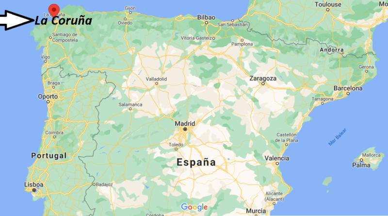 ¿Dónde está La Coruña
