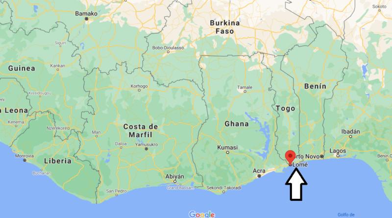 ¿Dónde está Lomé