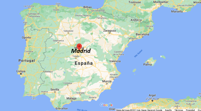 ¿Dónde está Madrid