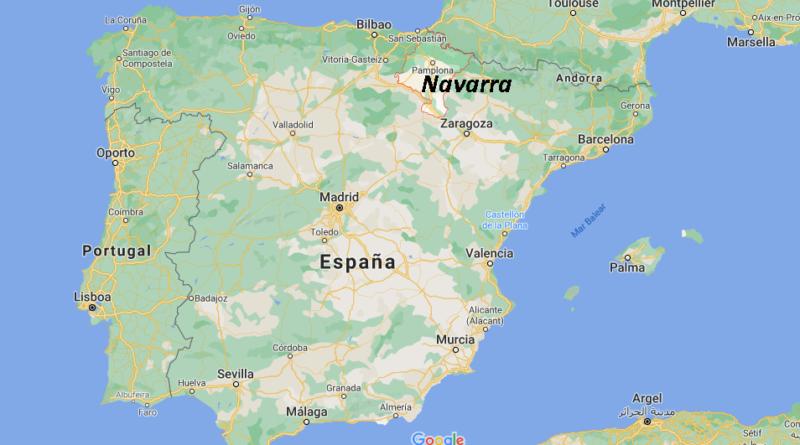 ¿Dónde está Navarra
