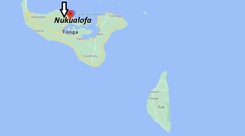 ¿Dónde está Nukualofa