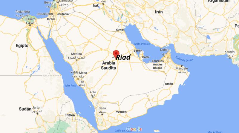 ¿Dónde está Riad
