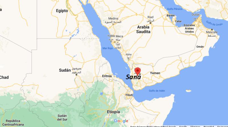 ¿Dónde está Saná