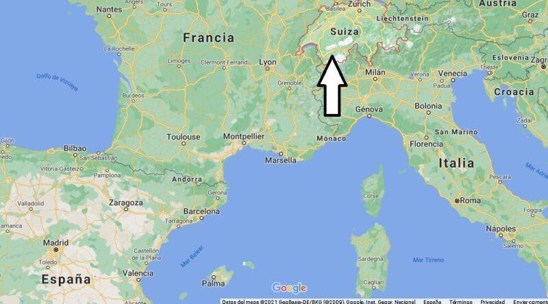 ¿Dónde está Suiza