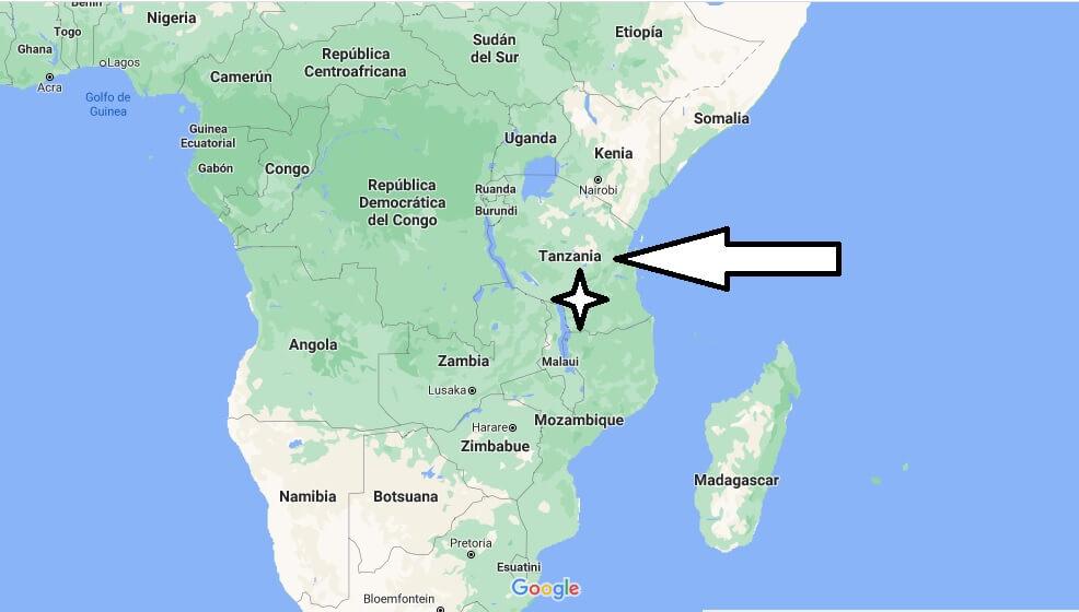 ¿Dónde está Tanzania