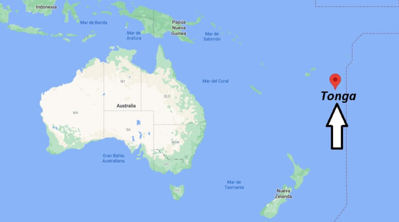 ¿Dónde está Tonga