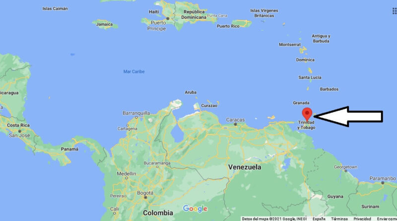 ¿Dónde está Trinidad y Tobago